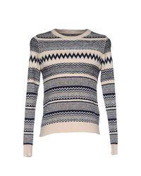 Gant White Sweater for men