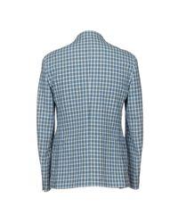 Lardini Blue Blazer for men