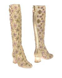 Alberta Ferretti - Yellow Boots - Lyst