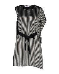 Robe courte Jucca en coloris Black