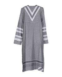 Cecilie Copenhagen White 3/4 Length Dress