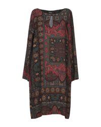 Robe courte Ottod'Ame en coloris Multicolor