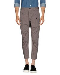 DSquared² Gray Casual Pants for men