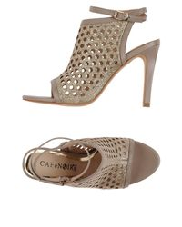 CafeNoir Multicolor Sandals