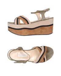 L'Autre Chose Brown Sandals