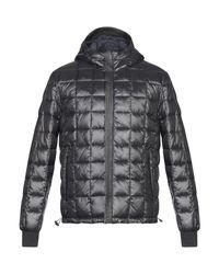 Yuko Black Synthetic Down Jacket for men