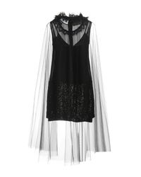 Loyd/Ford Black Short Dresses