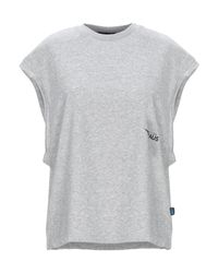 T-shirt di Haus By Golden Goose Deluxe Brand in Gray