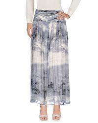 BOSS Orange Gray Long Skirt