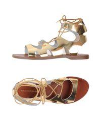 Windsor Smith Metallic Sandals