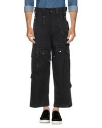 Youths in Balaclava Black Casual Trouser for men