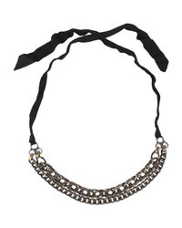 Lanvin Metallic Necklace