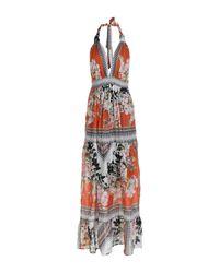 Vestito lungo di Mariagrazia Panizzi in Brown