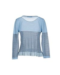 Rinascimento Blue Sweater