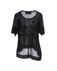 5preview Black T-shirt