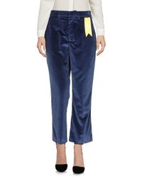 The Gigi Blue Casual Pants