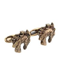 Roberto Cavalli Multicolor Cufflinks And Tie Clips for men