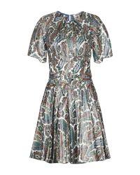 Robe courte Diane von Furstenberg en coloris Green