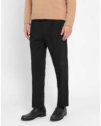 8 by YOOX Black Casual Trouser for men