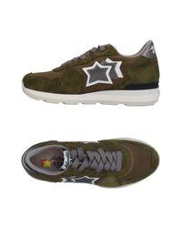 Atlantic Stars Green Low-tops & Sneakers