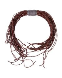 Brunello Cucinelli - Multicolor Necklace - Lyst
