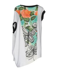 I'm Isola Marras - White T-shirt - Lyst