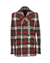 Roda - Green Coat for Men - Lyst