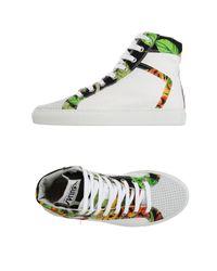 Springa - Gray High-tops & Sneakers - Lyst