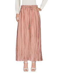 Leon & Harper Pink Long Skirt