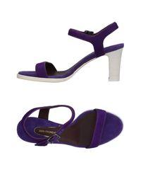 Bruno Magli Purple Sandals