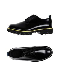 Emporio Armani Schnürschuh in Black für Herren