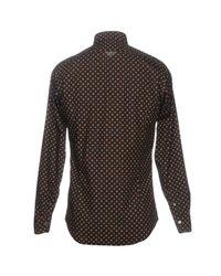 Drumohr Brown Shirt for men