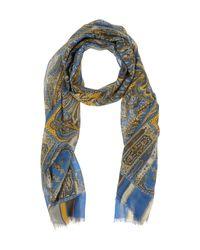 Écharpe Fiorio pour homme en coloris Blue