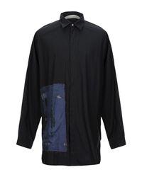 Chemise Isabel Benenato pour homme en coloris Black