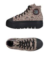 Soya Fish Gray High-tops & Sneakers