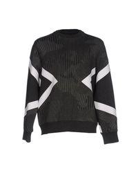 Neil Barrett Black Sweatshirt for men