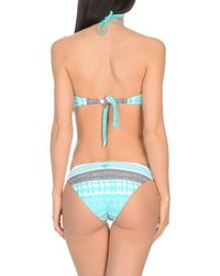 Twin Set Blue One-piece Swimsuit