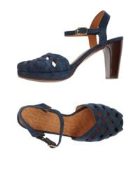 Chie Mihara - Blue Sandals - Lyst
