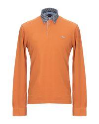 Polo Harmont & Blaine de hombre de color Orange