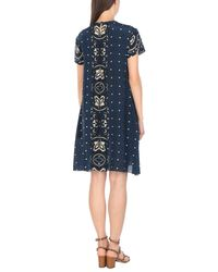 Robe courte RED Valentino en coloris Blue