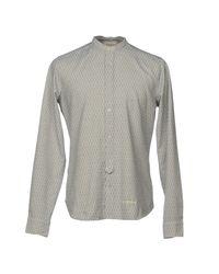Tintoria Mattei 954 Blue Shirt for men