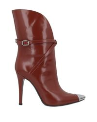 Philosophy Di Lorenzo Serafini Brown Ankle Boots