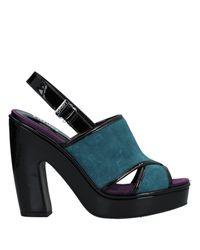 Liu Jo Blue Sandals