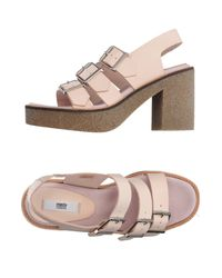 Miista Pink Sandals