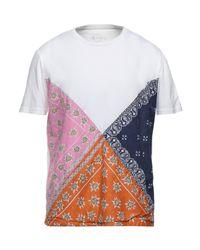 T-shirt di DNTWRRY in White da Uomo