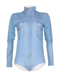 T-shirt di Vetements in Blue