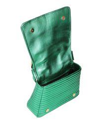 Borsa a mano di Moschino in Green