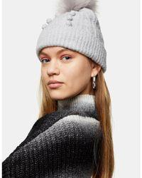 Cappello di TOPSHOP in Gray