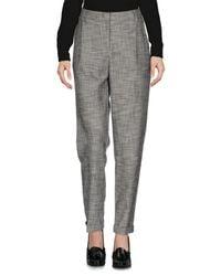 Essentiel Antwerp Gray Casual Trouser