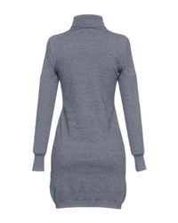 Sun 68 Gray Short Dress